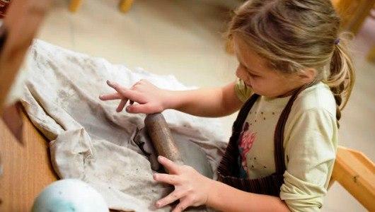 Ребенок из глины мастер класс